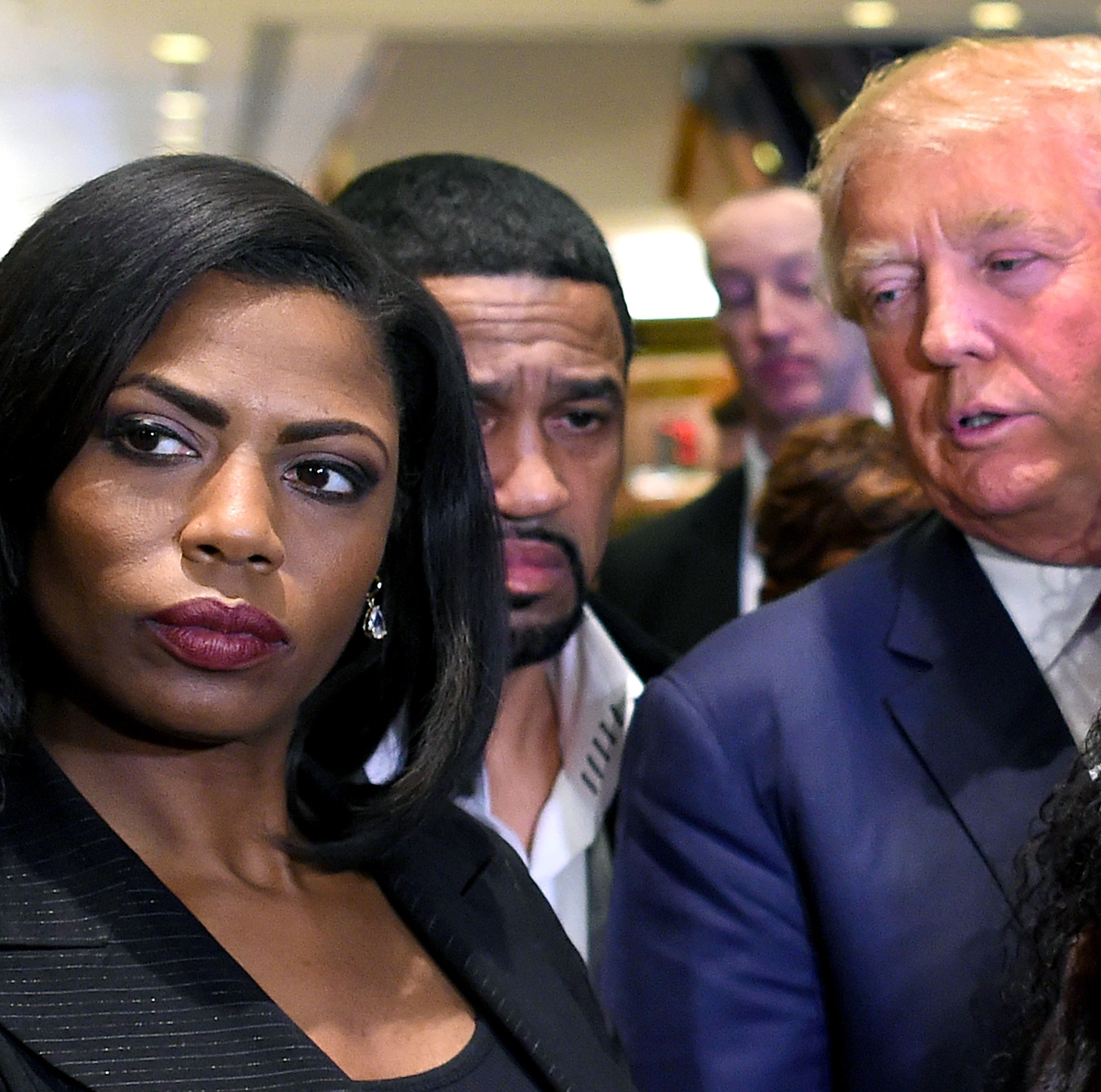 Trump and Omarosa deserve each other