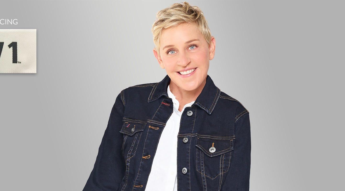91435d2ed7f46 Ellen DeGeneres teams up with Walmart on new denim-based collection