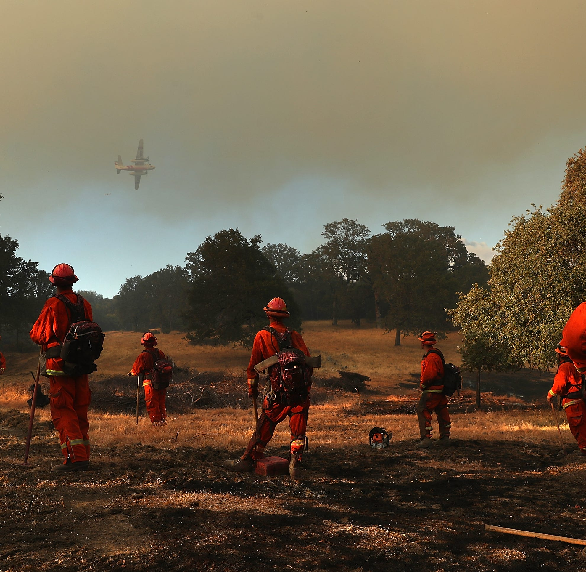 Inmates who volunteer to fight California's largest fires denied access to jobs on release