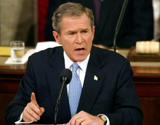 President George W. Bush in 2002.