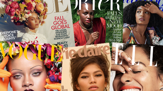 Rihanna, Beyoncé and Lupita Nyong'o are just a few of the multitude of black women on the covers of 2018 September issues of major fashion magazines.