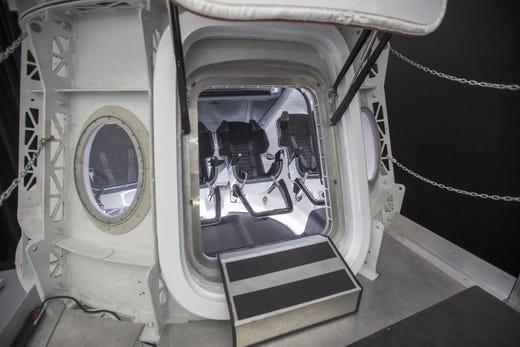 SpaceX: Inside their Crew Dragon spaceship for NASA astronauts