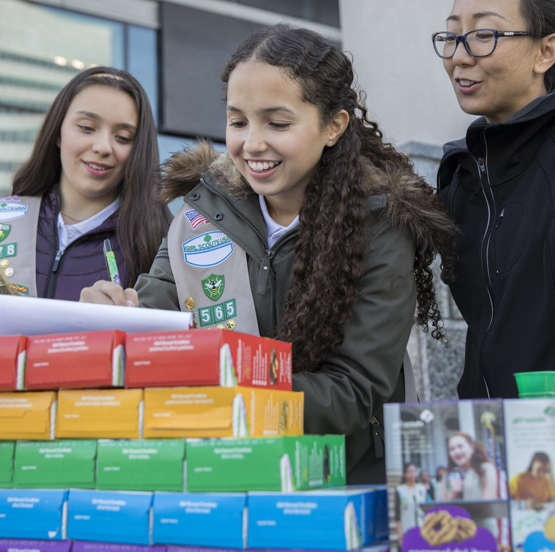 This is the new gluten-free cookie that Girl Scouts will be selling