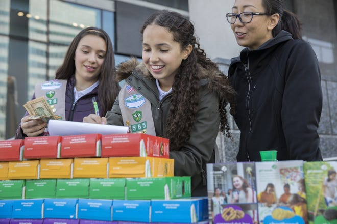 Girl Scouts announced that the Caramel Chocolate Chip will join the 2019 Girl Scout Cookie season lineup.