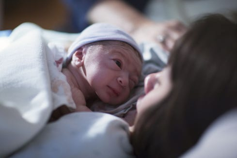 Rhode Island ranked the highest in C-section and conventional delivery charges, according to a WalletHub survey.