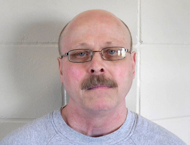 This file photo provided by the Nebraska Department of Correctional Services shows death-row inmate Carey Dean Moore. Nebraska prison officials are preparing to execute Moore on Aug. 14, 2018, for the 1979 murders of two Omaha cab drivers.