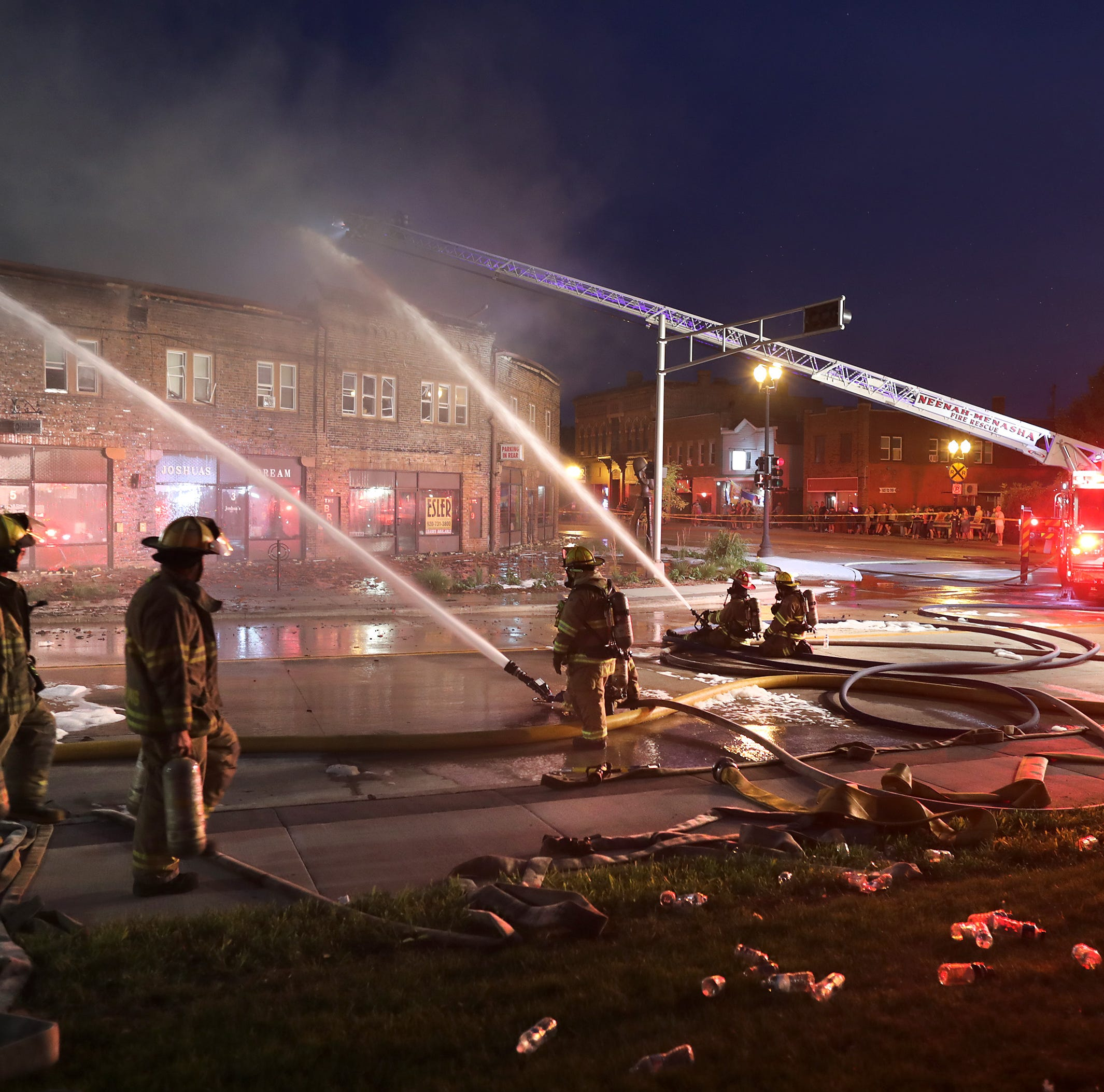 Devastating fire in Menasha's Brin Building was caused by electrical issue
