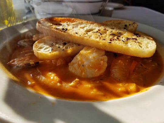 Cioppino from Salt and Stone is delicious.