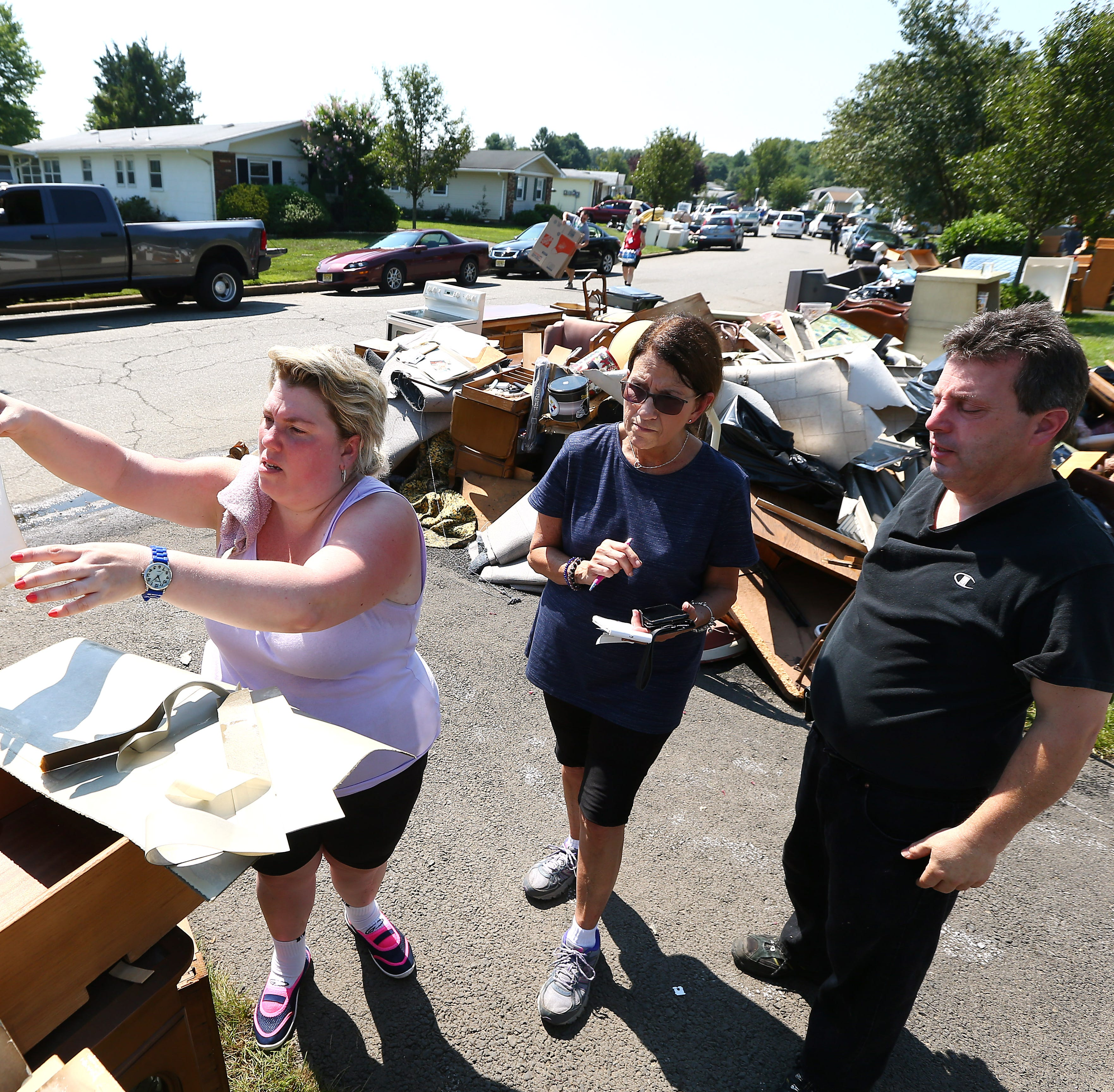 PHOTOS: Brick community comes together again to help flood victims