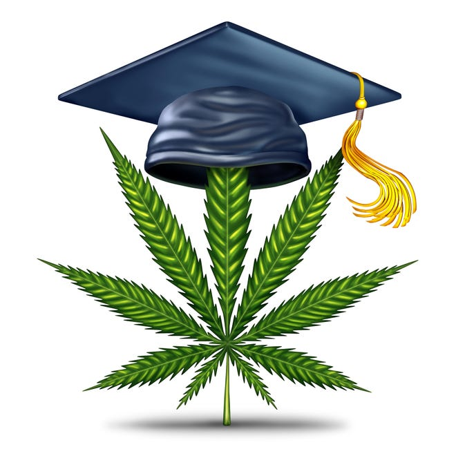 If marijuana is legalized in New Jersey, that doesn't mean college students are free to light up.
