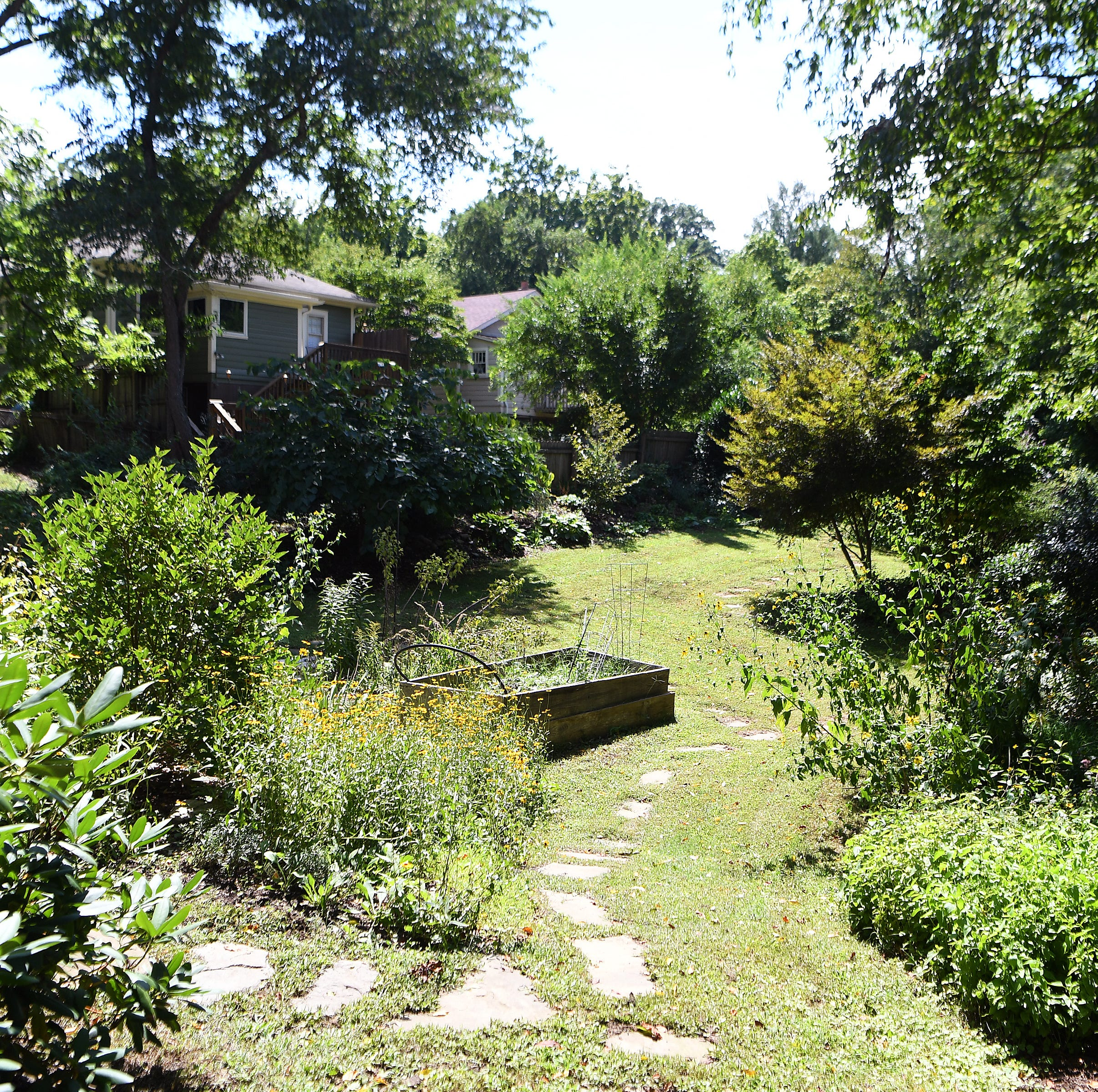 Home of the week: Graziano's West Asheville garden
