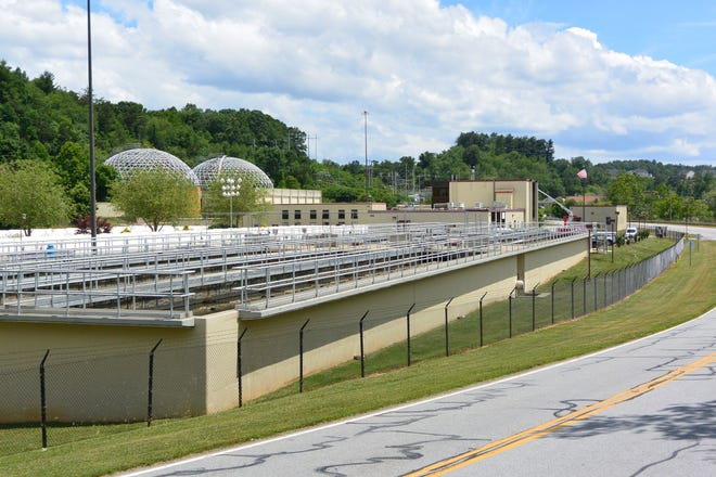 The Metropolitan Sewerage District wastewater treatment plant in Woodfin still has plenty of remaining capacity.