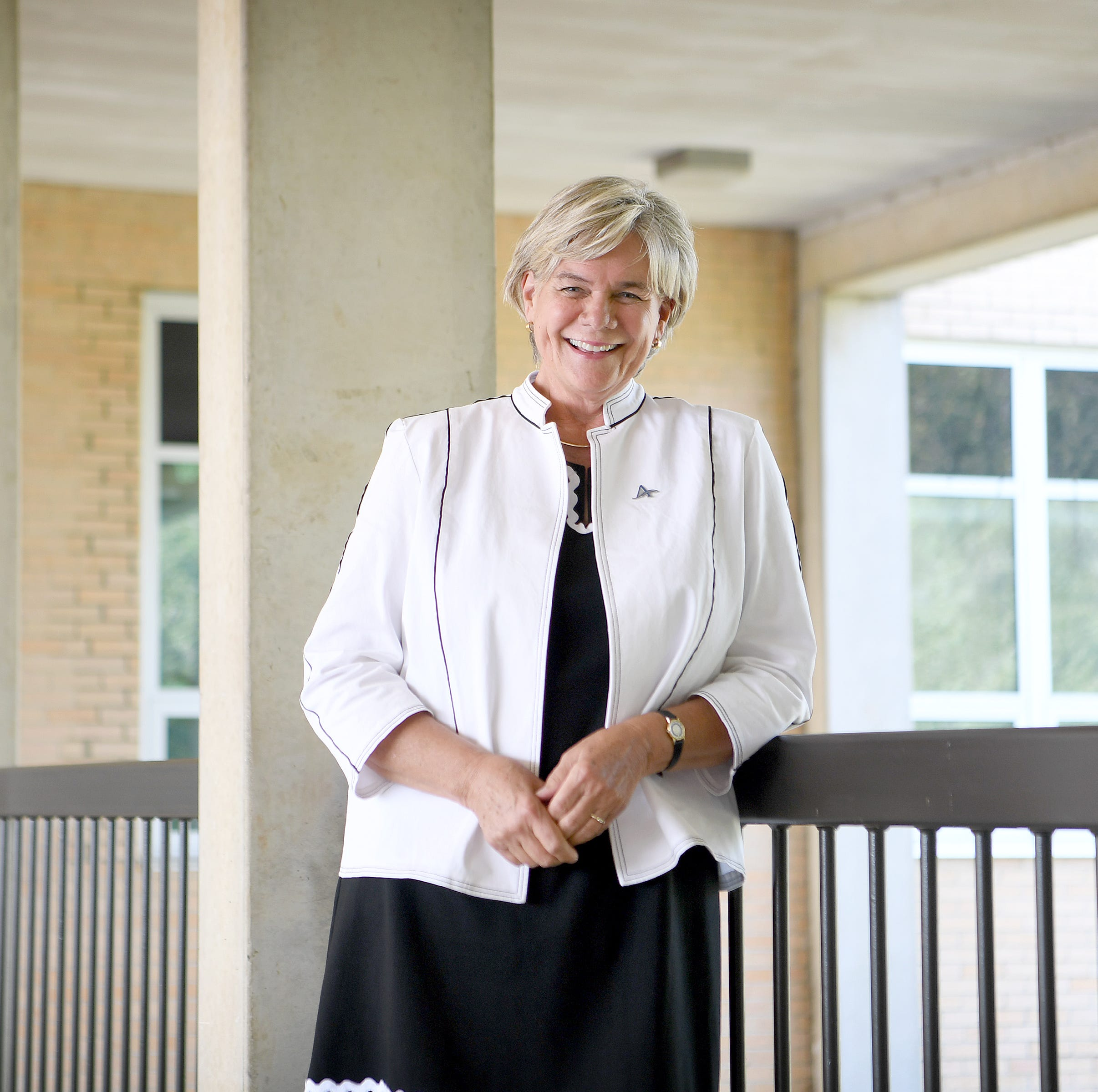 First day for new UNCA Chancellor Nancy Cable