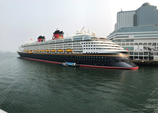 Disney Cruise Ship Docked