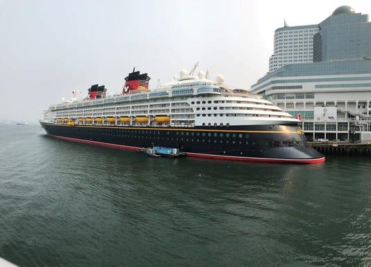 Disney Cruise Ship Docked