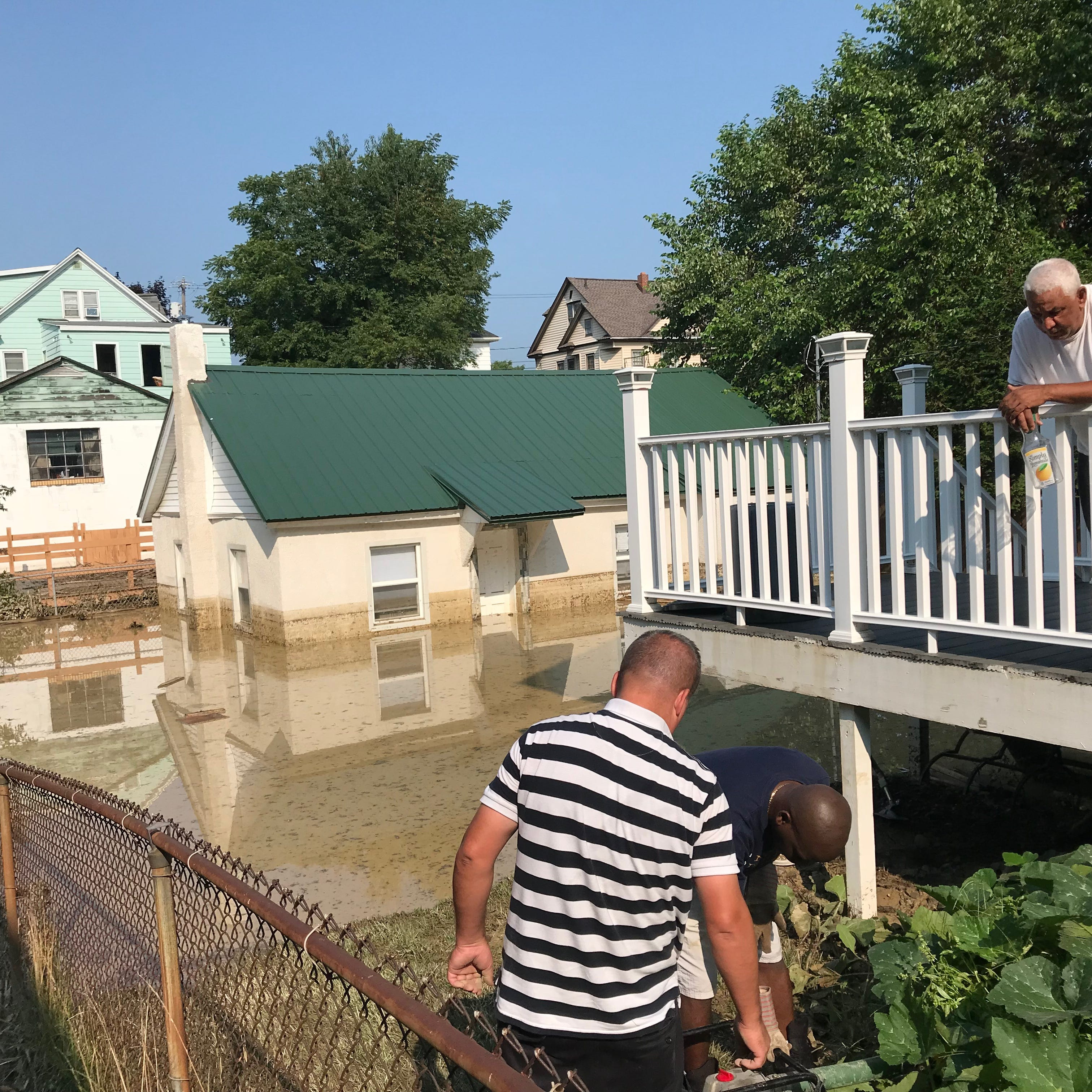 Flood damage closes two Binghamton streets indefinitely