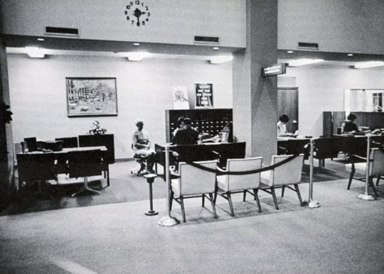 The accounts department as it appeared in 1967.