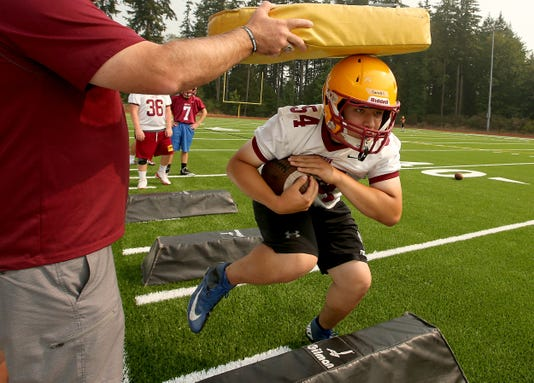 Kingston Football Practice First Day 02