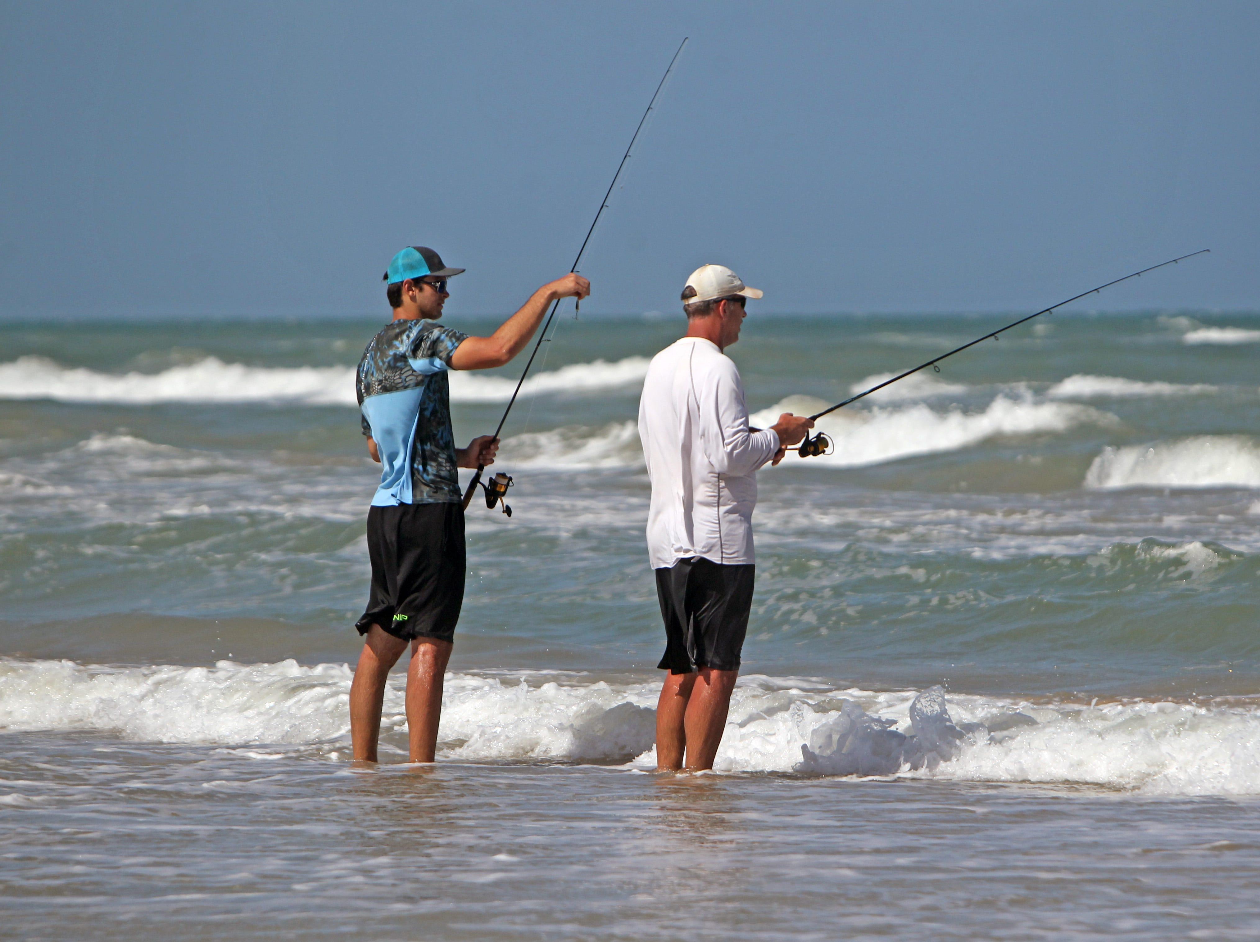 Luke and Steve McGhee began fishing on Padre Island National Seashore when Luke was a senior in high school and Steve was his coach.