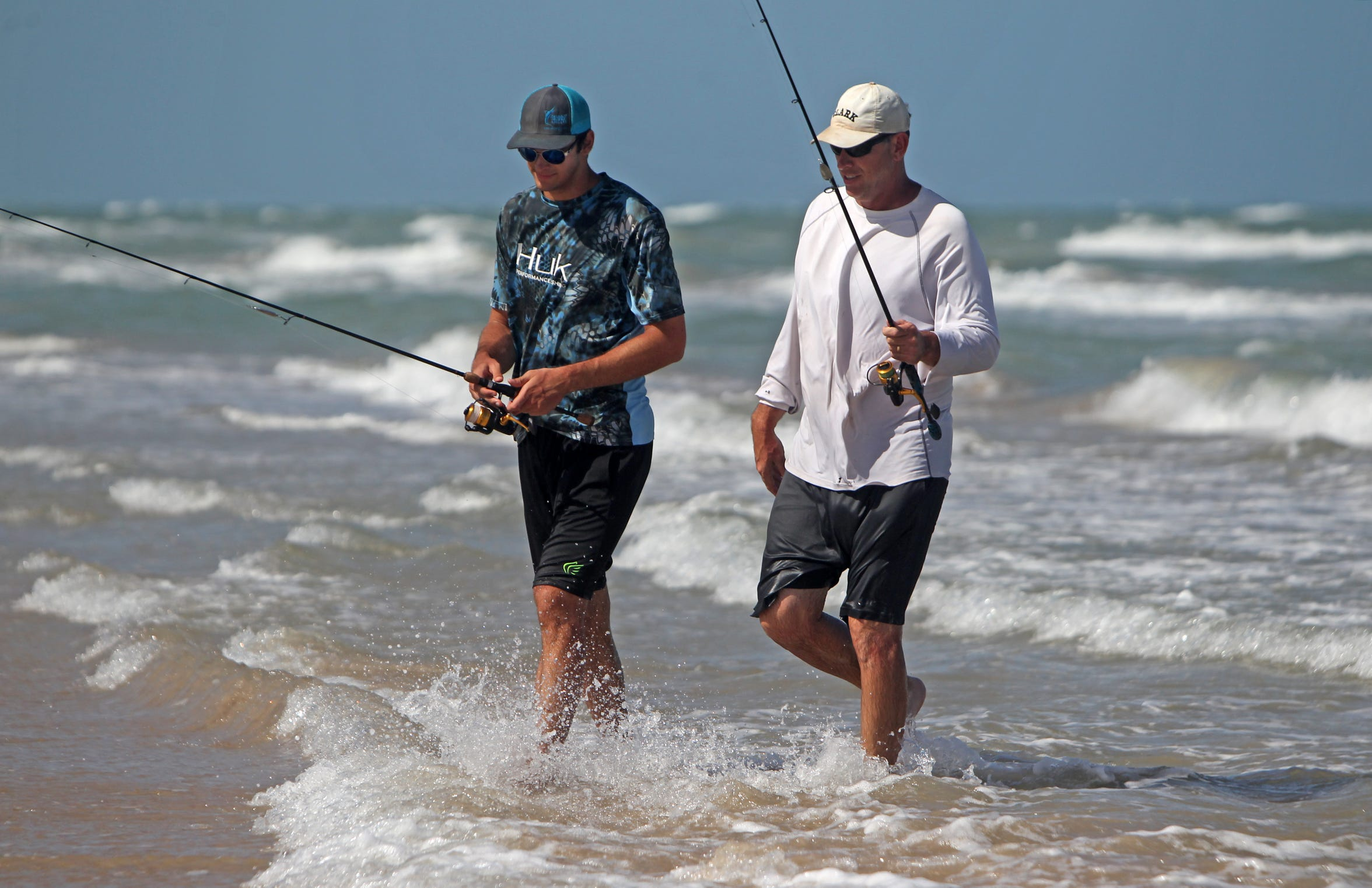 Steve and Luke McGhee began fishing on PINS when Luke was a senior in high school.