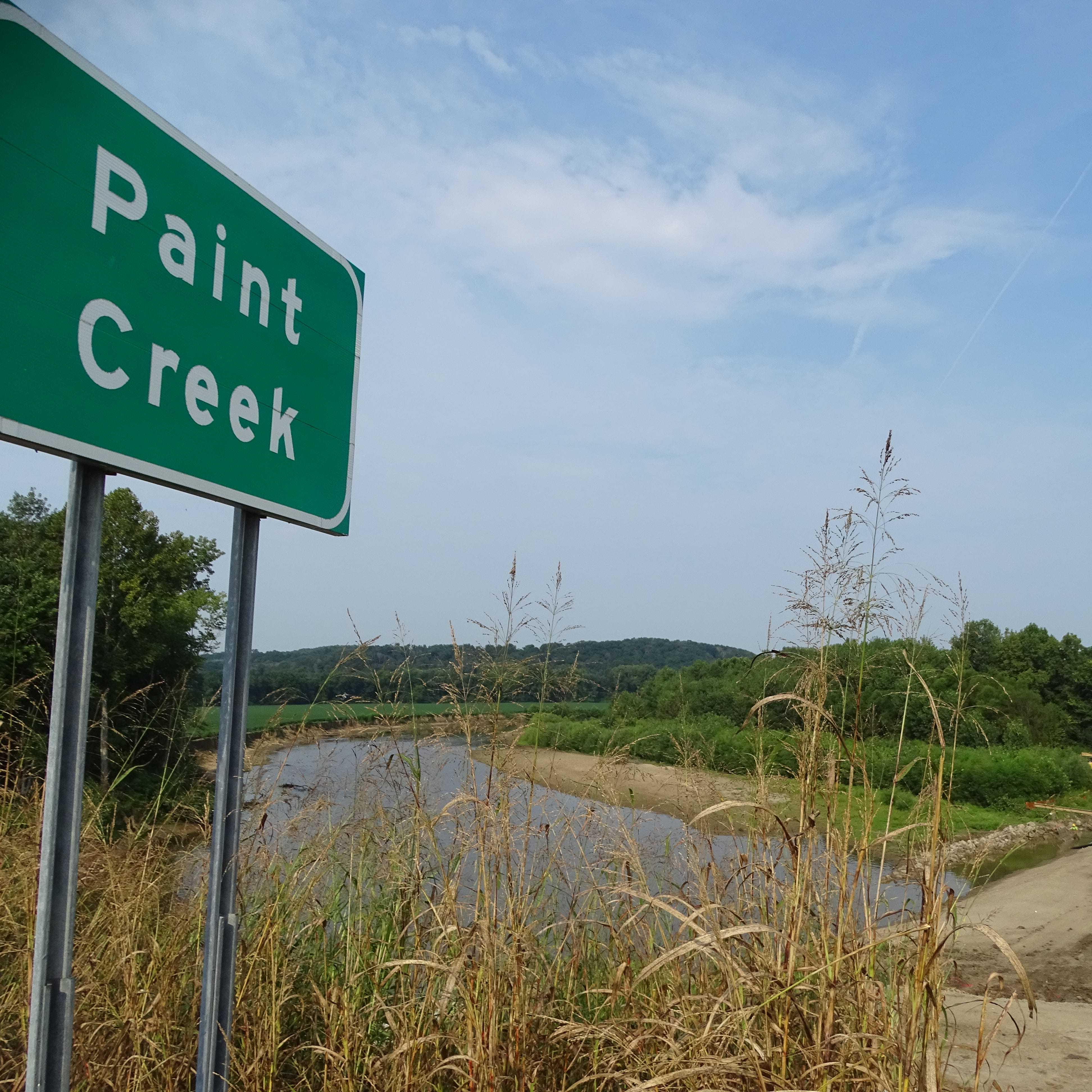 Body discovered under Paint Creek Bridge