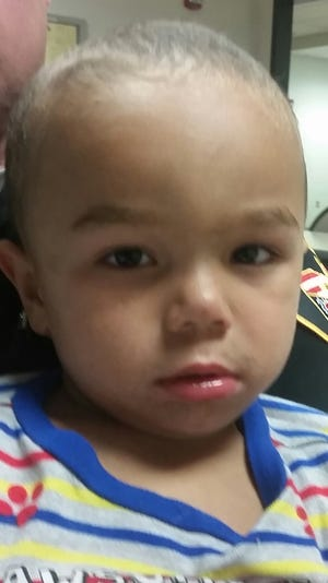 This boy, who police think is about 3, was found wandering alone on the streets in Symmes Township early Wednesday.