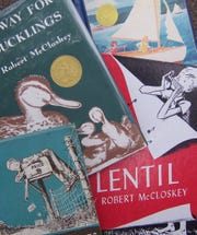 Robert McCloskey, native of Hamilton, Ohio, wrote and illustrated several award-winning children's books.