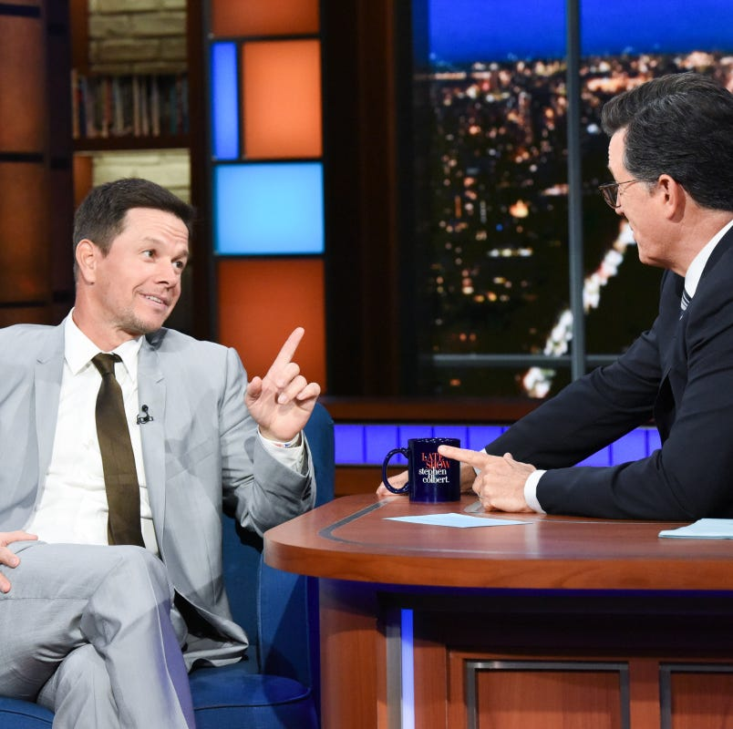 Mark Wahlberg on Columbus on 'Late Show:' I love being (there)