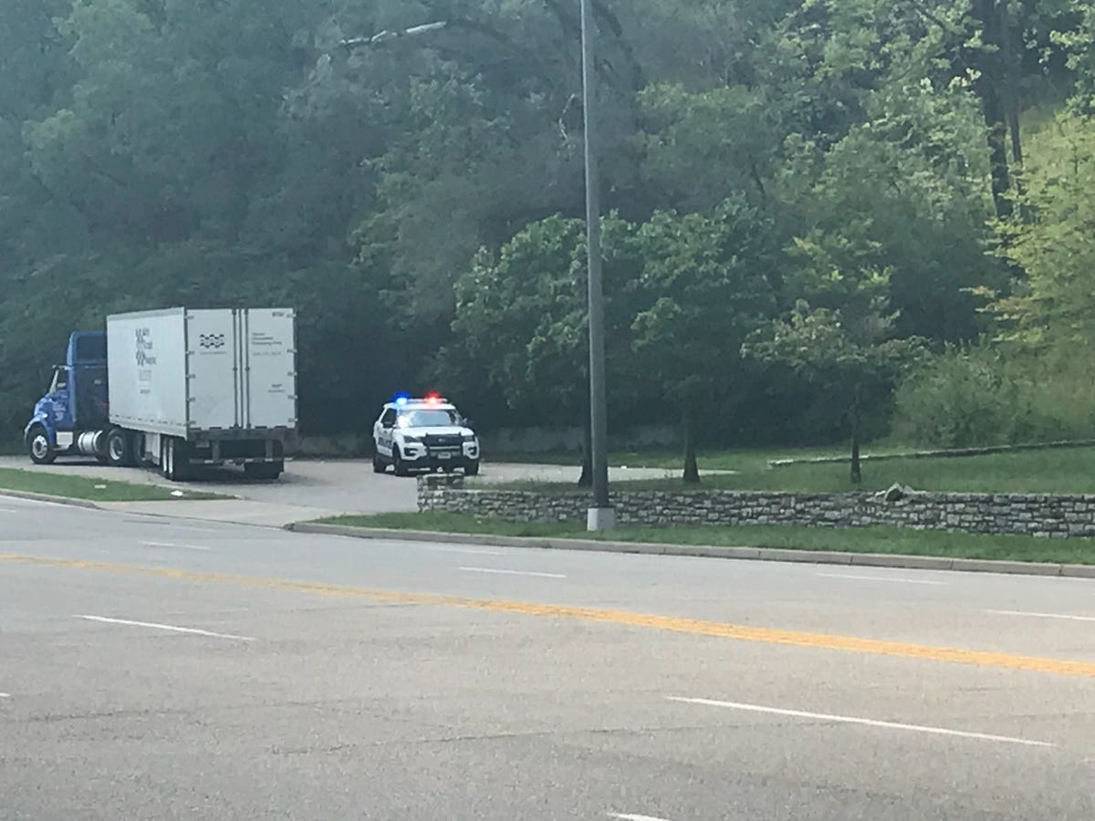 Columbia Parkway motorcycle crash: Semi driver charged with