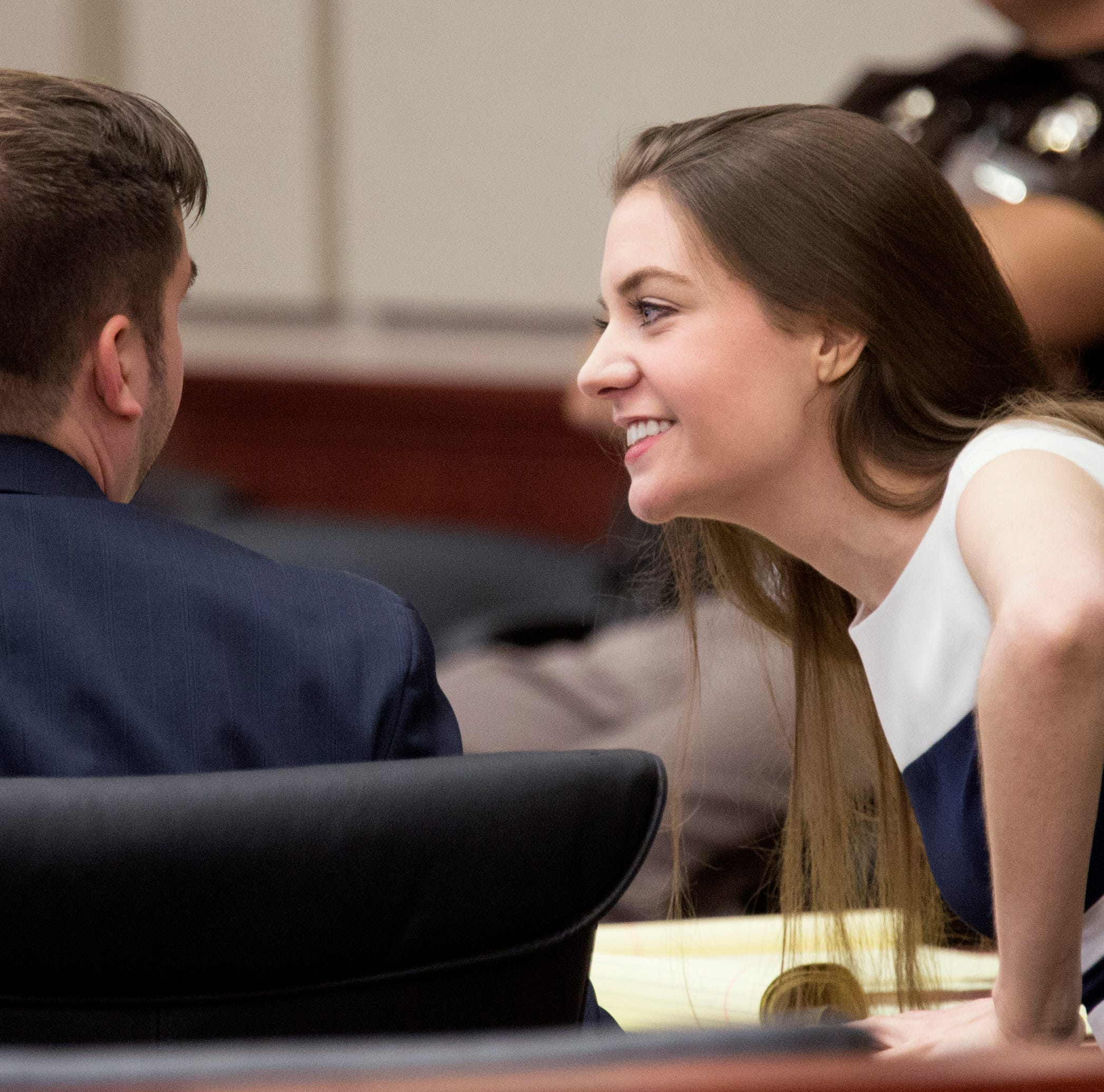Shayna Hubers trial: 'Shoot and kill him and play like it's an accident,' she texted friend