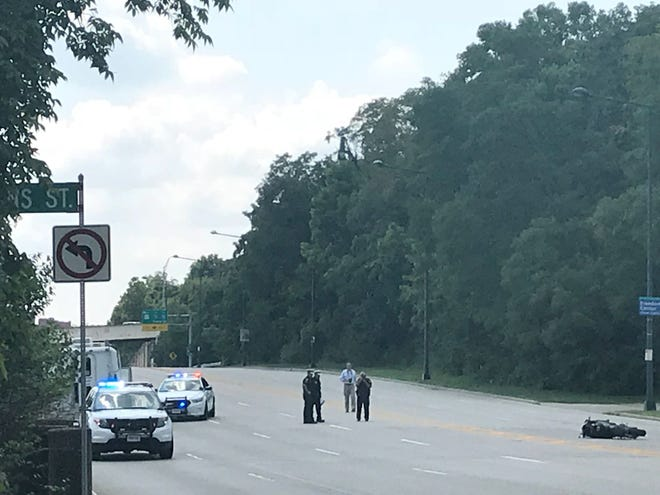 21-year-old Jordan Alexander was killed when her motorcycle collided with a semi tractor-trailer which made an improper U-turn in front of her on Columbia Parkway on Tuesday.