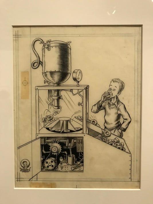 McCloskey\'s \'Ducklings\' illustrations at art museum