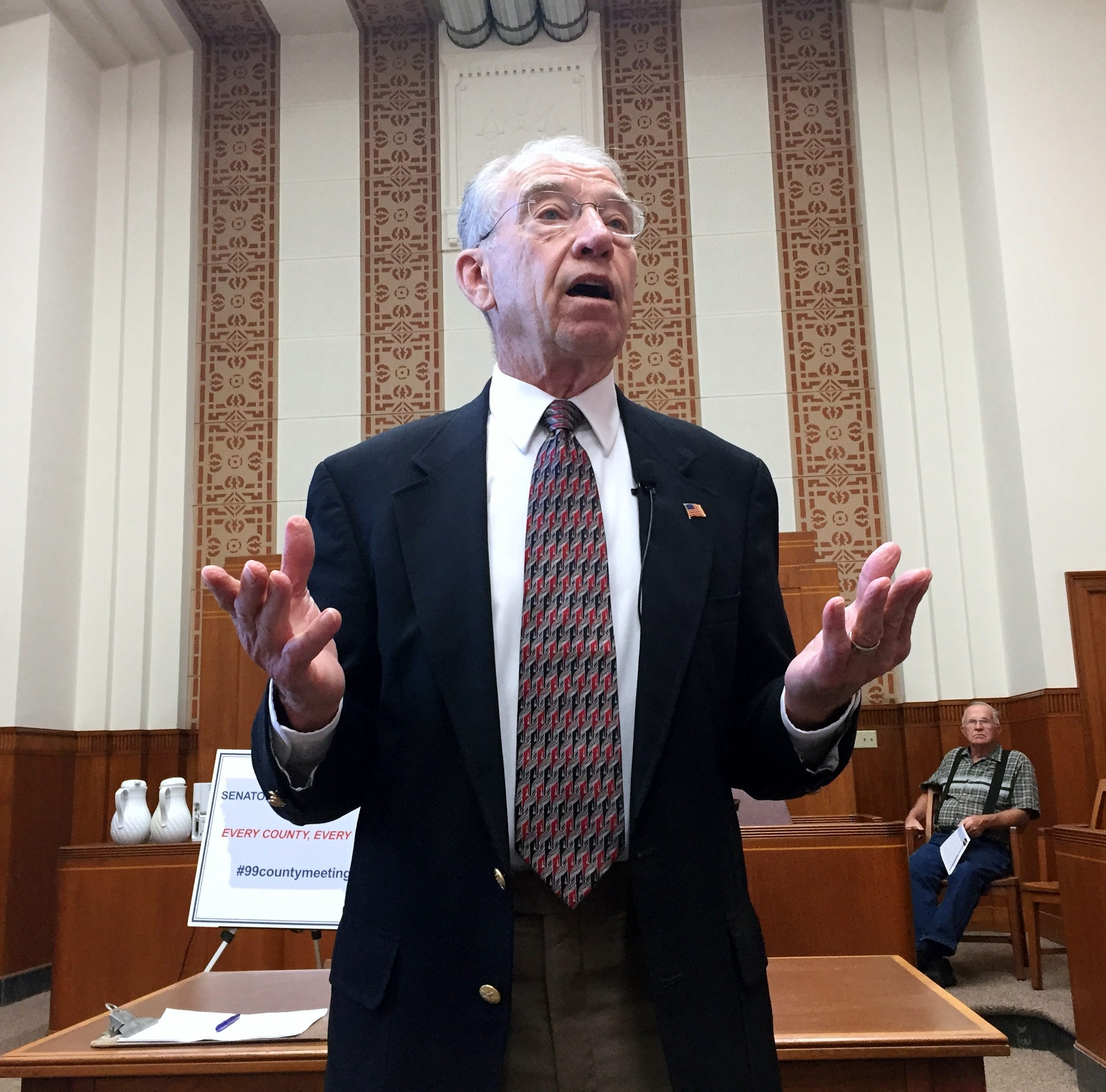 Sen. Grassley is not protecting seniors