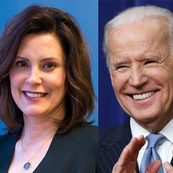Joe Biden endorses Gretchen Whitmer in Michigan's governor race