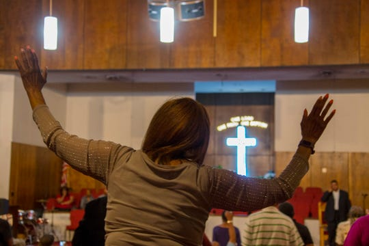 A prayer vigil was held for Aretha Franklin at New Bethel Baptist Church Wednesday, August 15, 2018. Franklin is reported to be gravely ill.