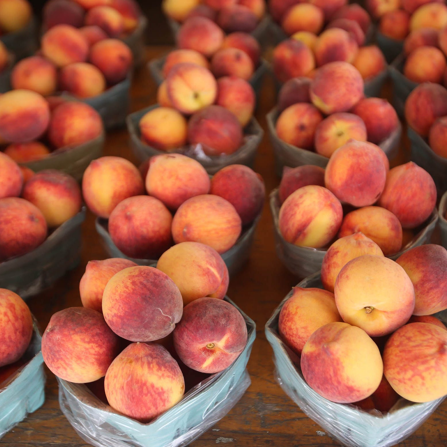 Summer dryness and heat have made Michigan peach crop especially sweet