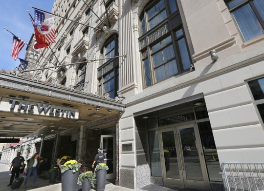 The once shuttered Westin Book Cadillac Hotel in downtown Detroit is now a symbol of the city's renaissance.