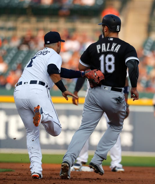 Ap White Sox Tigers Baseball 1