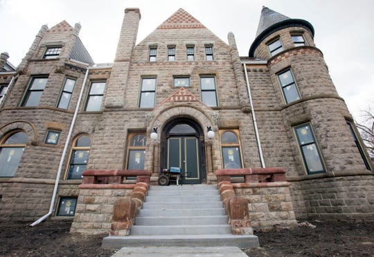 The Scott Mansion is under restoration in Detroit.