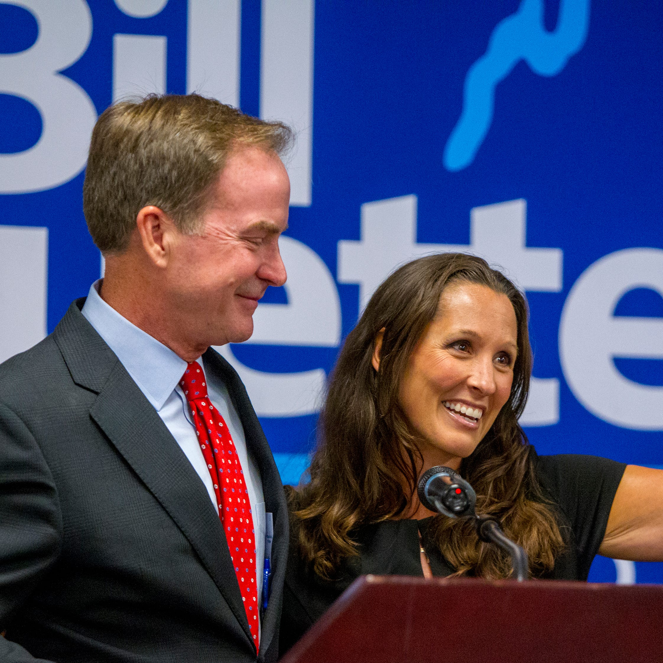 GOP governor nominee Bill Schuette names Lisa Lyons as running mate