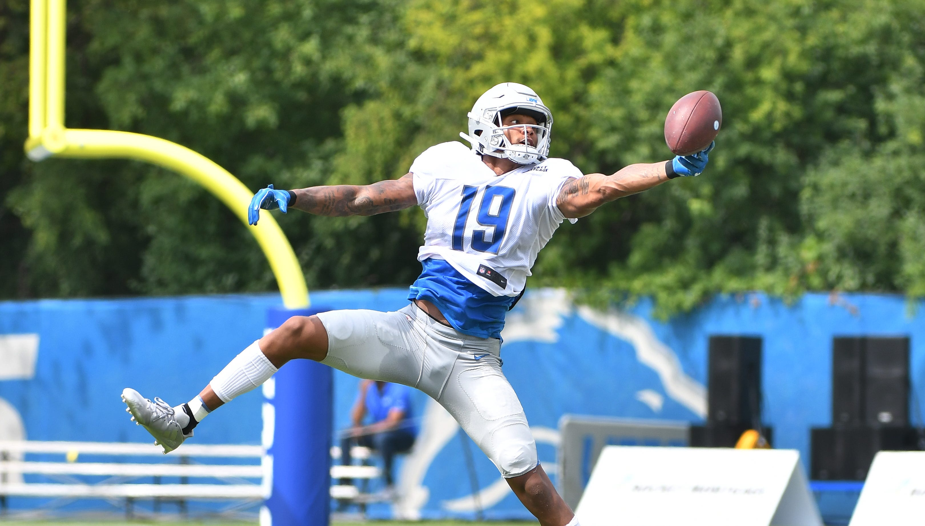 Lions' Golladay looks to pick up the pace in Year 2