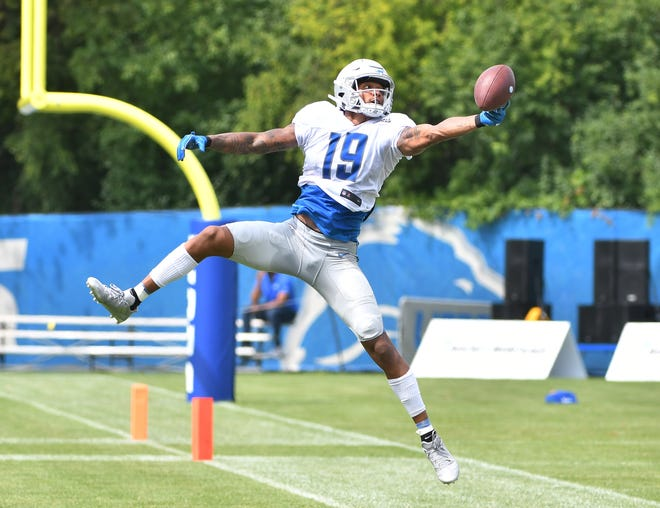 Lions wide receiver Kenny Golladay