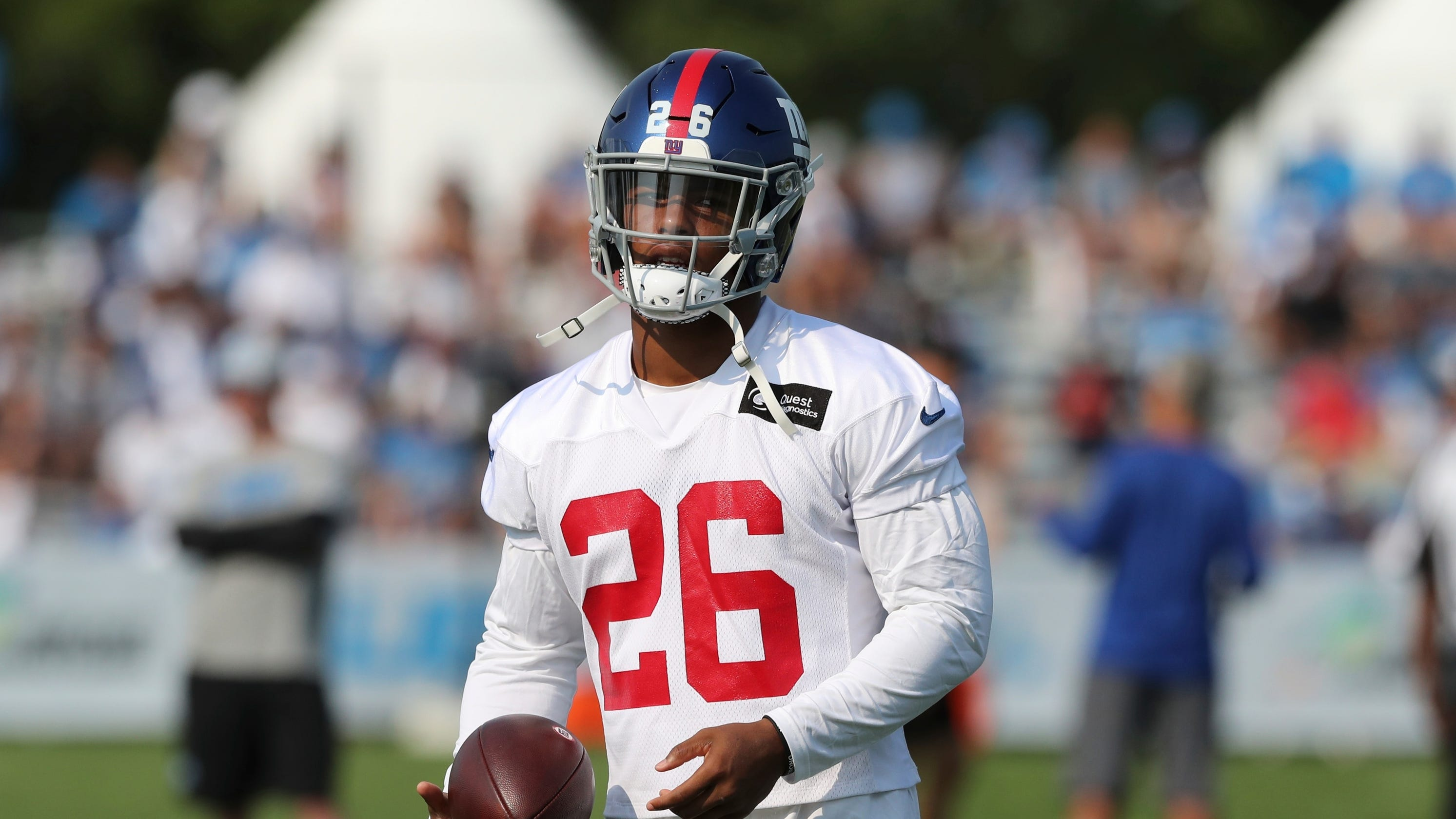 024664823f9 Giants  Saquon Barkley is questionable for game vs. Detroit Lions