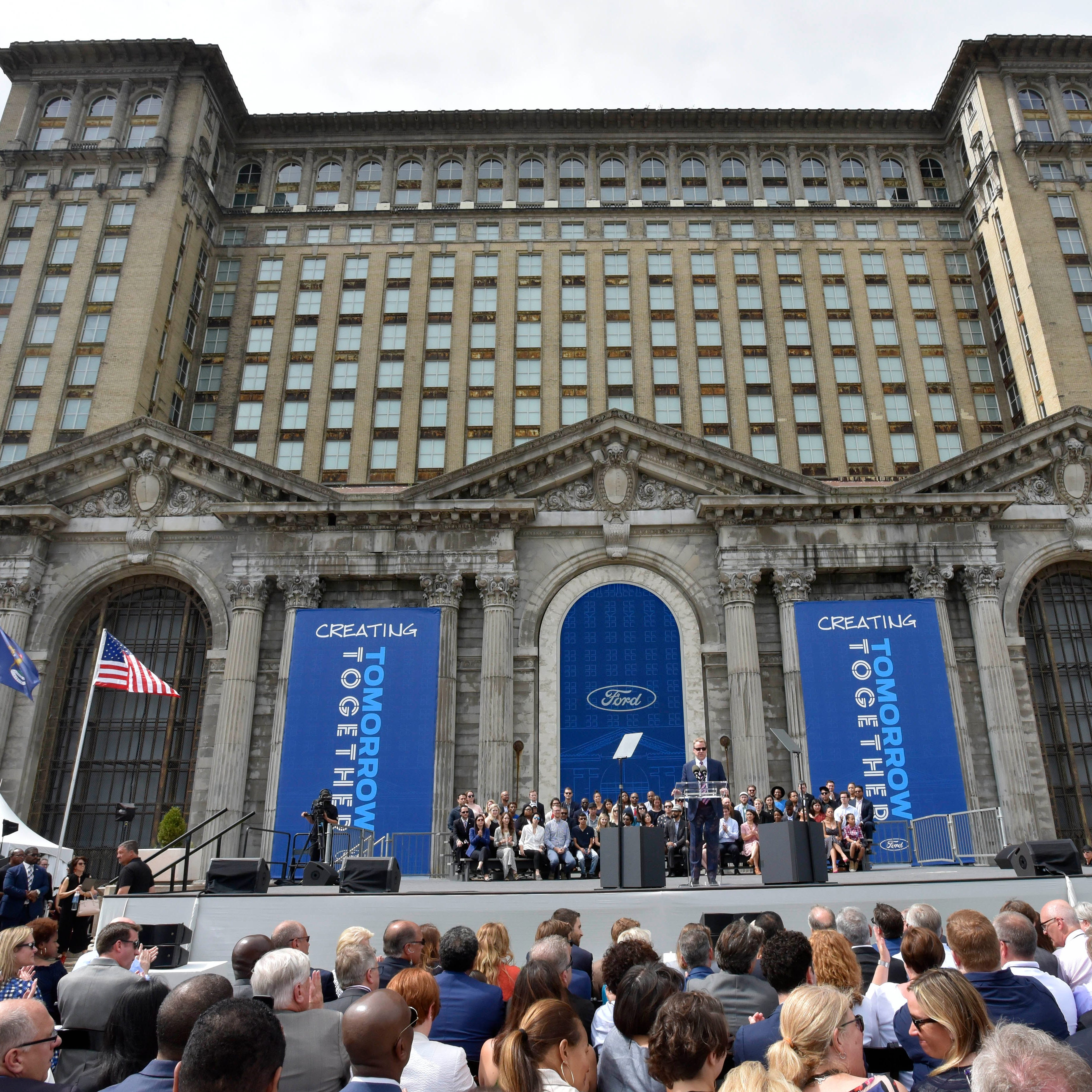 Ford Motor Co. paid $90 million for Michigan Central Station