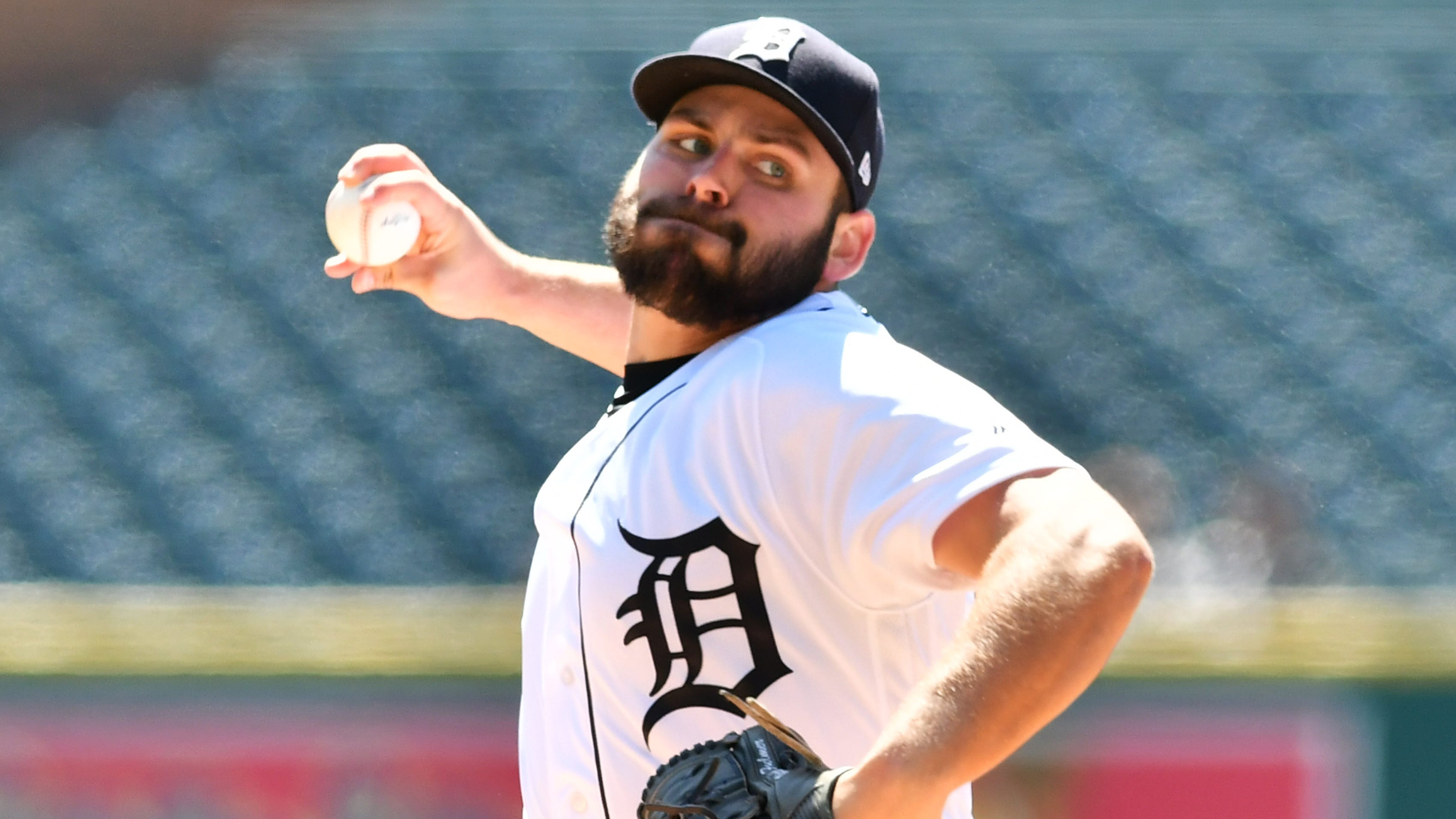 Tigers pitcher Michael Fulmer threw two scoreless innings in a rehab start for Single-A Lakeland on Tuesday.