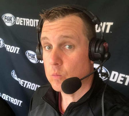Neal Ruhl Is A Local Broadcaster Who The Lead Voice For Several Teams Including Oakland Men S Basketball Photo Special To Detroit News