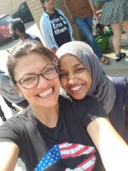 Rashida Tlaib of Detroit and Ilhan Omar of Minnesota could be the first female Muslims to serve in Congress.