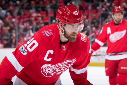 Back issues have left Red Wings captain Henrik Zetterberg's return to Detroit uncertain.