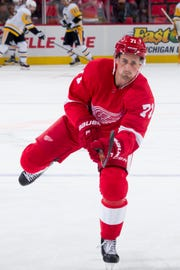 Dylan Larkin signed a new five-year deal last week with the Red Wings.