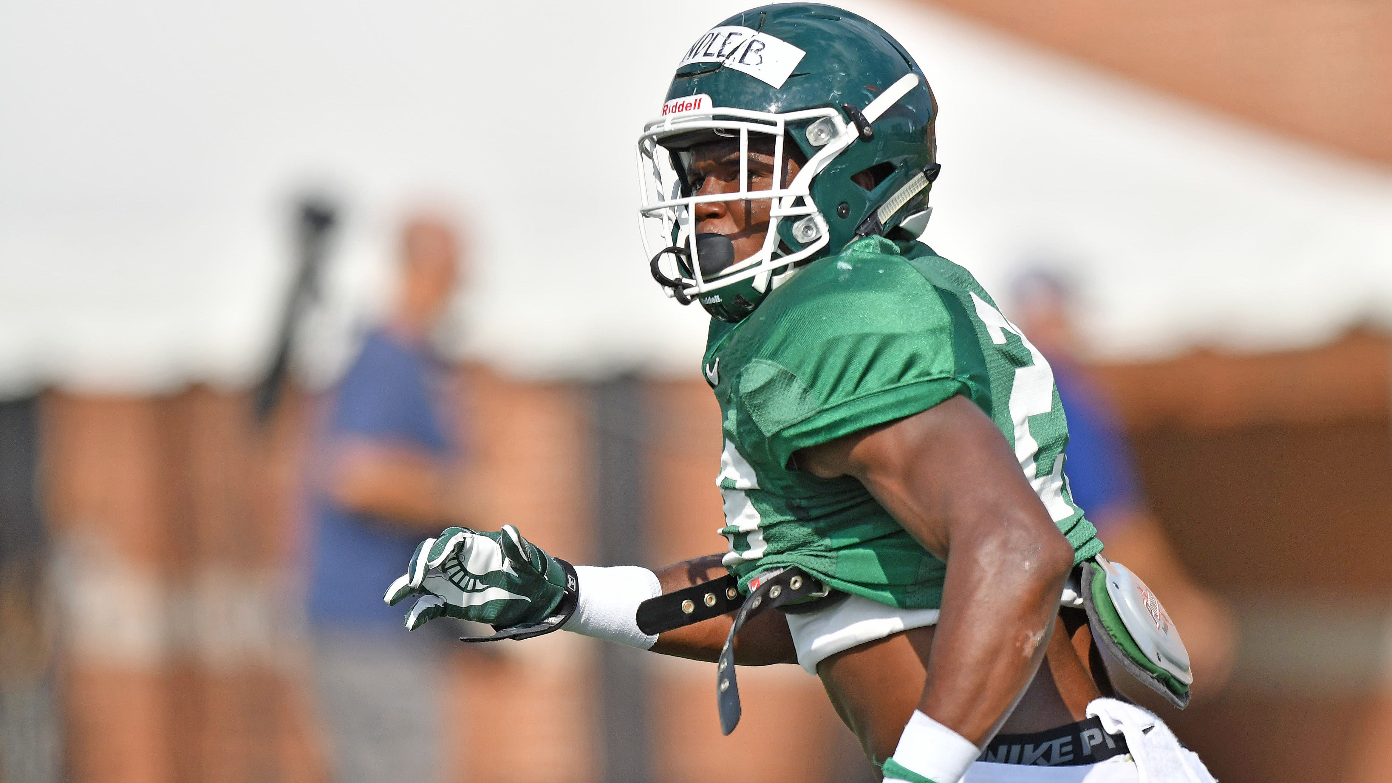 Spartans boast plenty of options at strong-side linebacker
